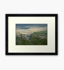Washington Landscape Framed Print