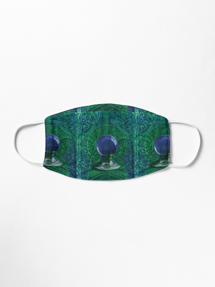 Alternate view of Mystic Visions in Blue and Green Mask