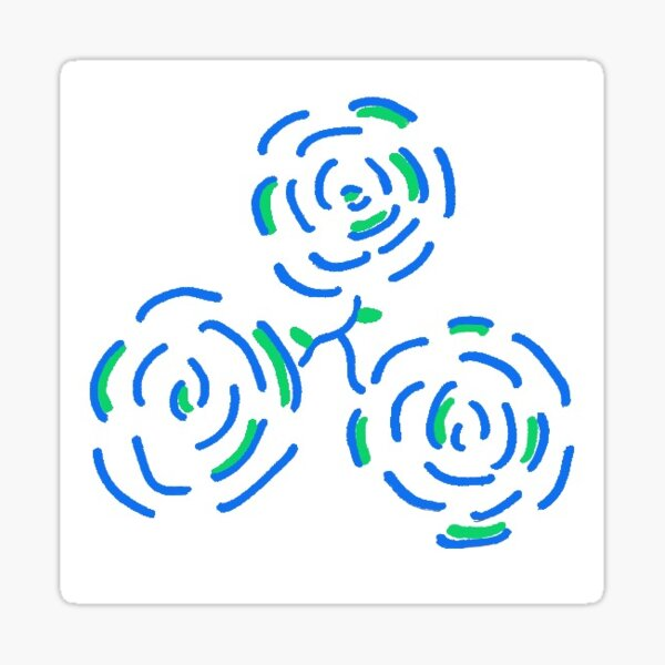 ONETrack Roses Sticker