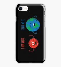 Mars has water iPhone Case/Skin
