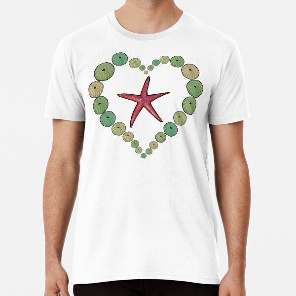 Sea Urchins Heart Premium T-Shirt