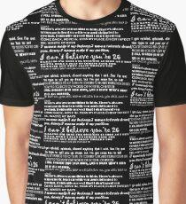 Catfish&the bottlemen lyrics Graphic T-Shirt