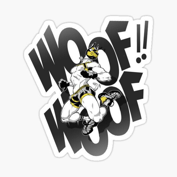 WOOF !! Sticker