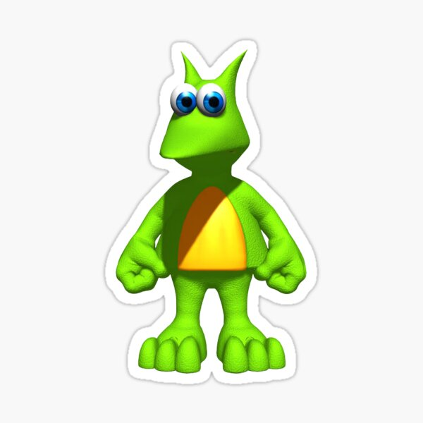 Green Jinjo Sticker
