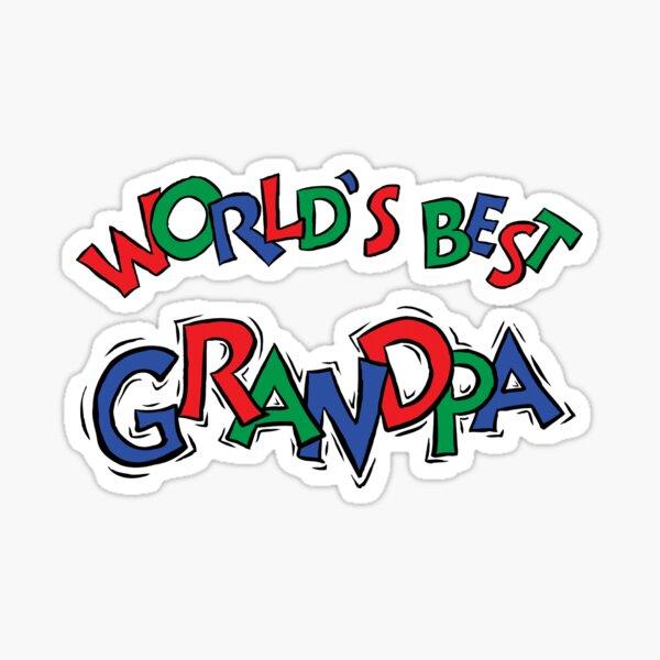 "Grandpa ""World's Greatest Grandpa"" Sticker"