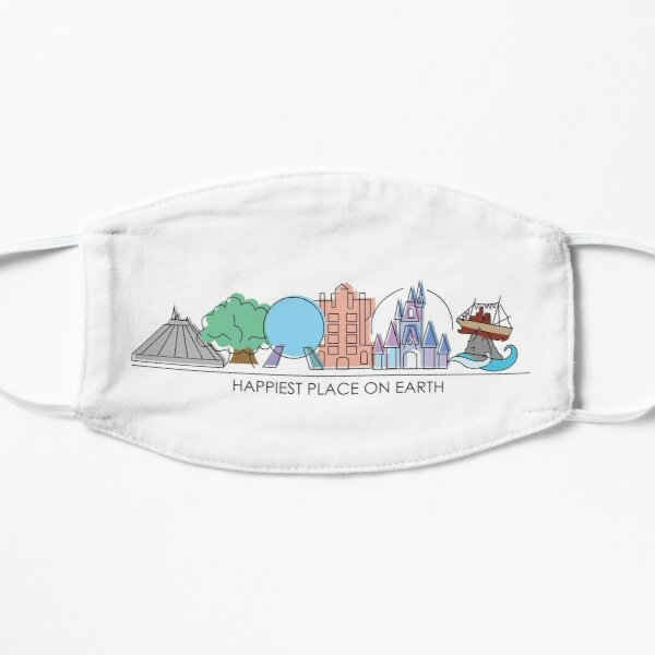 Happiest Place on Earth Flat Mask