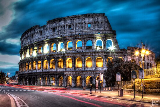 HDR Coliseum by JPAube