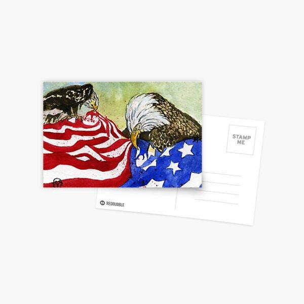 America Divided Postcard