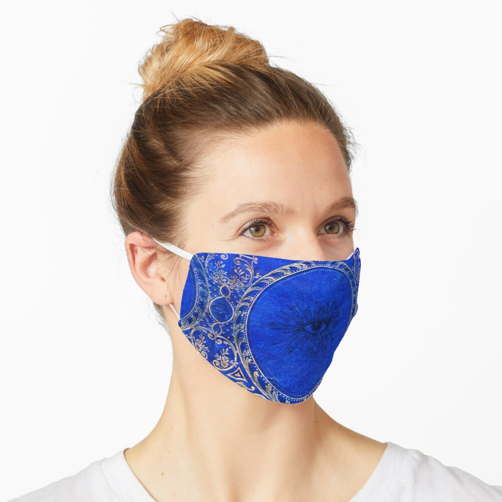 I See You in Blue Mask
