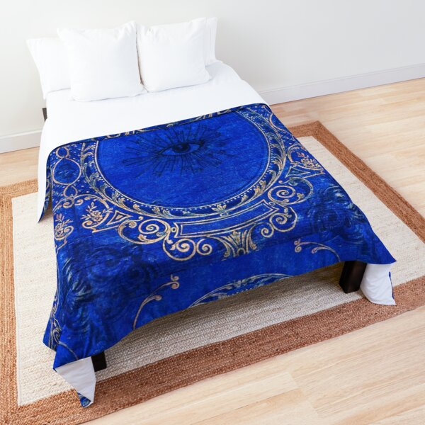 I See You in Blue Comforter