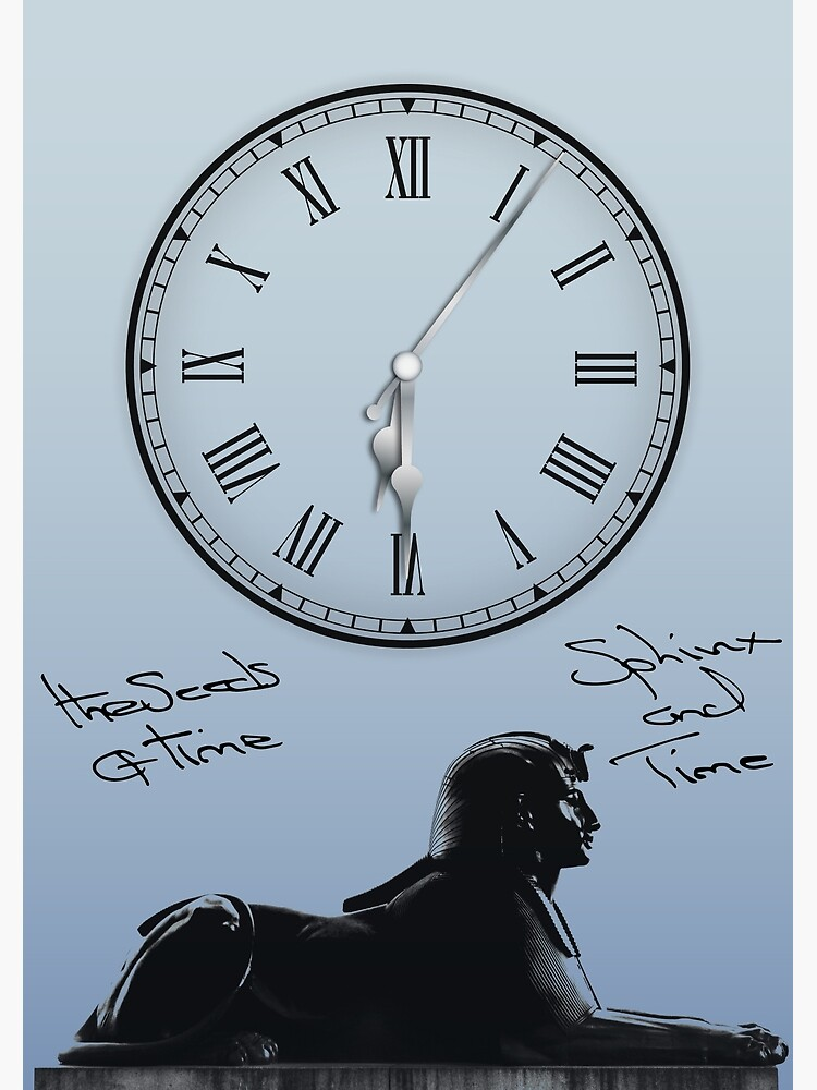 Sphinx and Time by theseedsoftime
