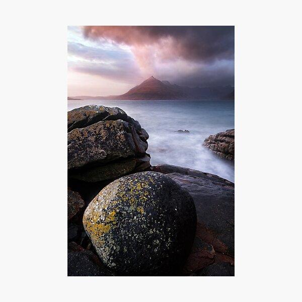 Skye Cuillin Sunset Elgol Loch Scavaig Scotland Photographic Print