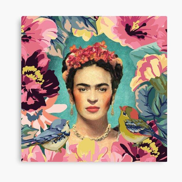 Frida Kahlo V Lienzo