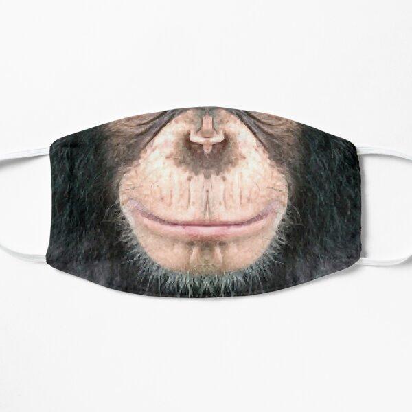 Chimpancé 2 Mascarilla plana