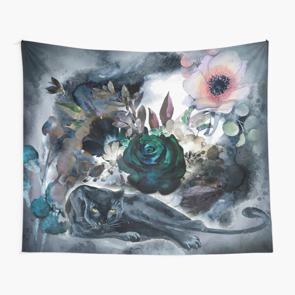 Black panther Tapestry