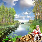 Wreath in the Water by Igor Zenin