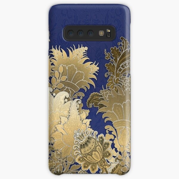 For The Goddess (Blue and Gold) Samsung Galaxy Snap Case