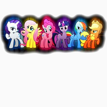 Mane Six by AwSnapWatchThis