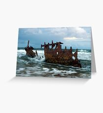 dicky wreck  Greeting Card