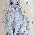 Snow Bunny by Fay Helfer