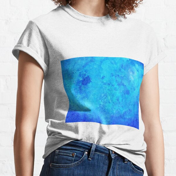Abstract blue two Classic T-Shirt
