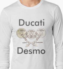 Ducati Desmo Long Sleeve T-Shirt