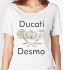 Ducati Desmo Women's Relaxed Fit T-Shirt