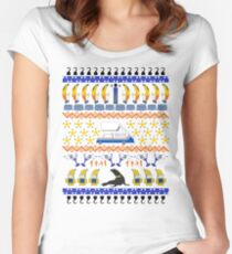 Arrested Development Ugly Sweater Women's Fitted Scoop T-Shirt