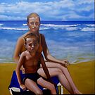 my love with sand and son by imajica