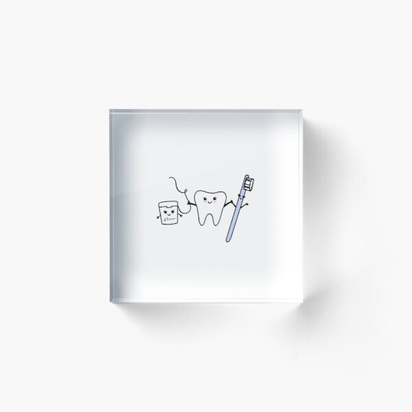happy tooth & friends Acrylic Block