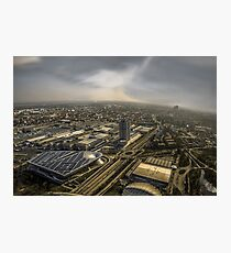 Munich from above - vintage part Photographic Print
