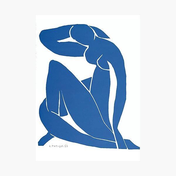 Henri Matisse - Nu bleu XII Impression photo