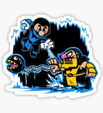Mario Kombat Sticker