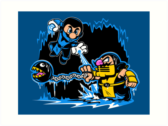 Mario Kombat by harebrained