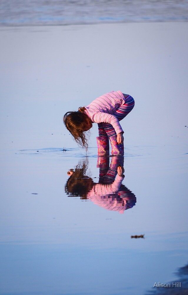 Afternoon Reflections 2 by Alison Hill