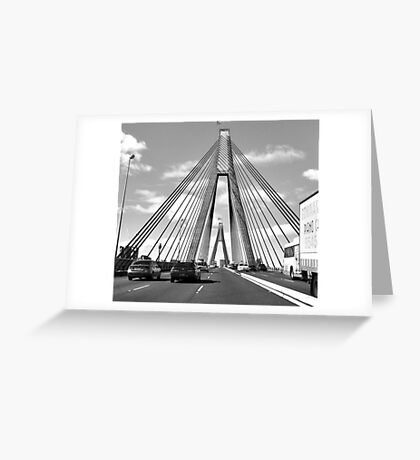 ANZAC Bridge 5 Greeting Card