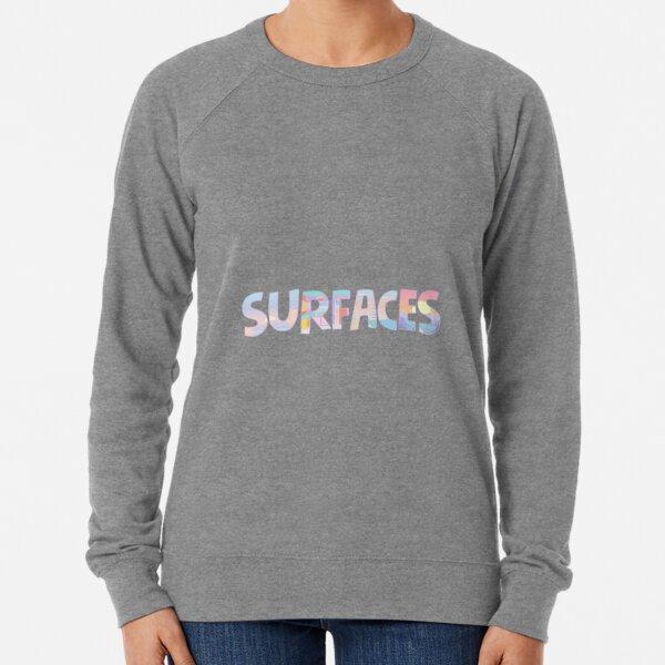 Surfaces Music Album Covers Lightweight Sweatshirt