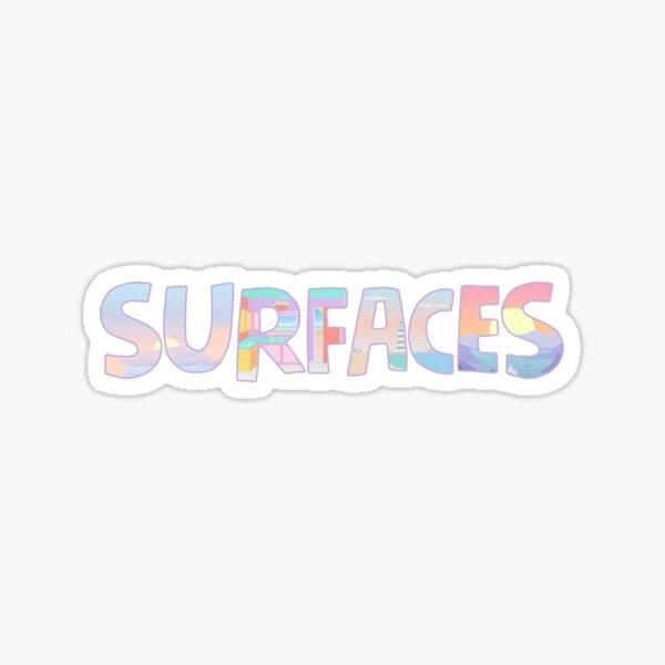 Surfaces Music Album Covers Sticker