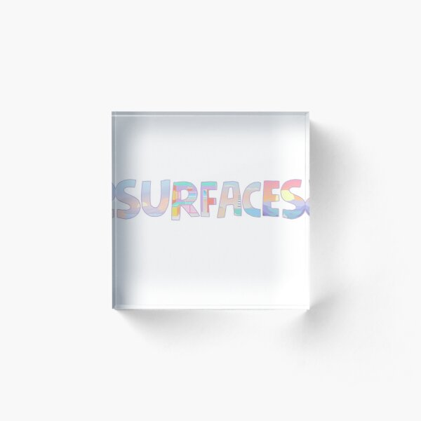 Surfaces Music Album Covers Acrylic Block