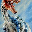 Spinosaurus by Wayne Dowsent
