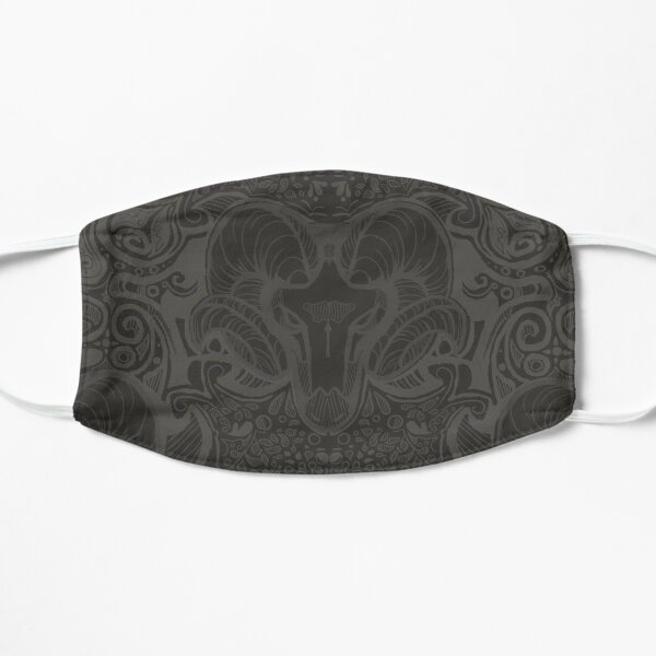 Ram's Head Damask pattern (Cursed Dagger) Flat Mask