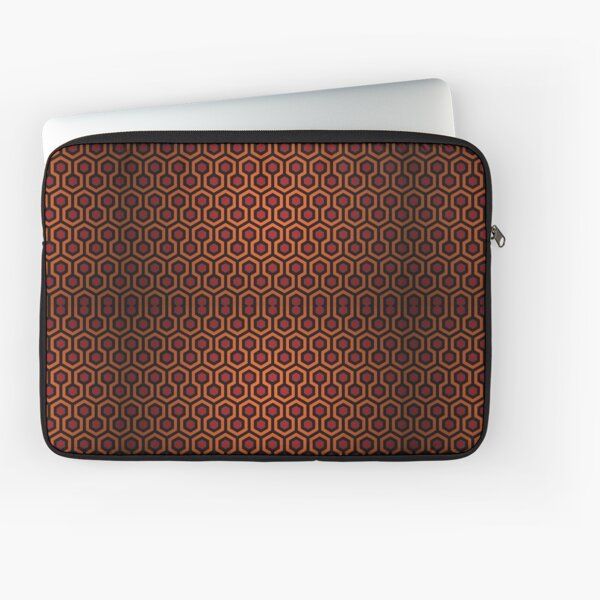 Le motif de tapis brillant Housse d'ordinateur