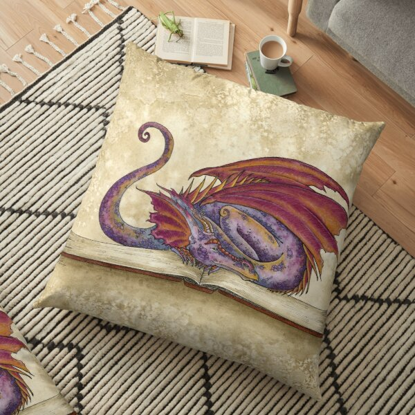 Bookwyrm Floor Pillow