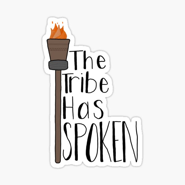 Survivor The Tribe Has Spoken Sticker