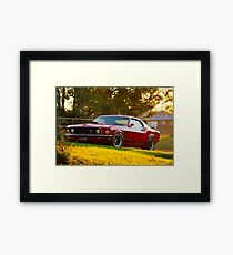 Laurie Attard's 1970 Ford Mustang Framed Print