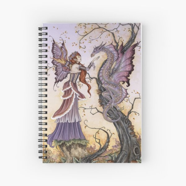 The Dragon Charmer Spiral Notebook