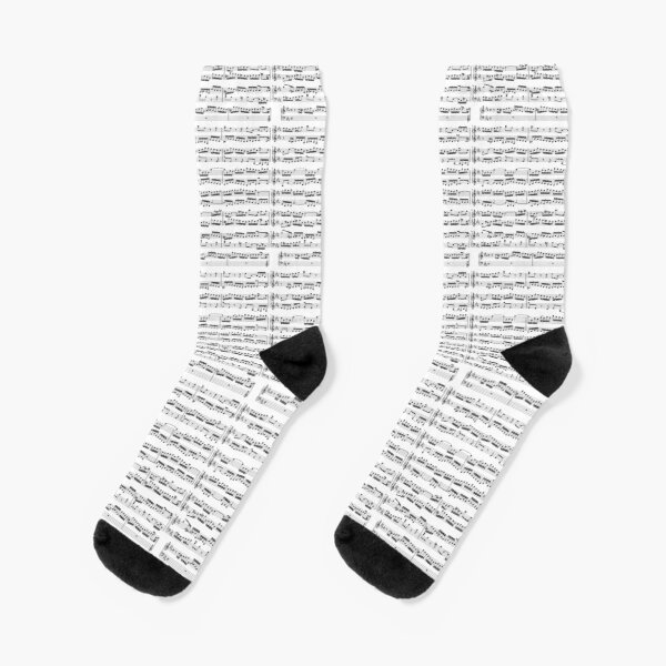 Johann Sebastian Bach sheet music Socks