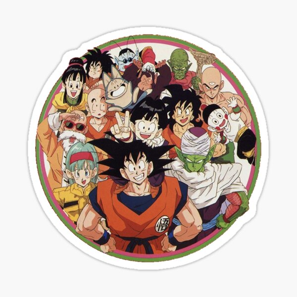 Dragon Ball family  Sticker
