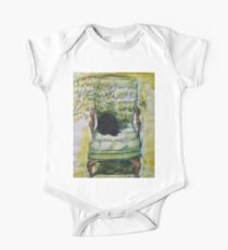 Natasha in the Chartreuse Chair Kids Clothes