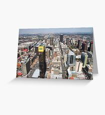 Downtown Johannesburg, South Africa Greeting Card